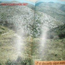 Libros de segunda mano: EL DESIERTO INVADE ESPAÑA . MANUEL TOHARIA 1990. TAPAS DURAS CON SOBRECUBIERTA. 180 PAGINAS. Lote 14894951