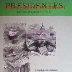 Libros de segunda mano: PRESIDENTES DE LOS ESTADOS UNIDOS. Lote 26887183