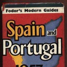 Libros de segunda mano: FODOR´S MODERN GUIDES. SPAIN AND PORTUGAL. 1957. ILLUSTRATED EDITION GUÍA DE ESPAÑA Y PORTUGAL. Lote 22590213