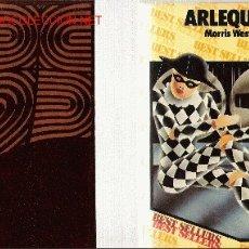 Libros de segunda mano: ARLEQUÍN / MORRIS WEST. Lote 20975466
