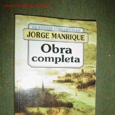 Libros de segunda mano: OBRA COMPLETA. Lote 1984868