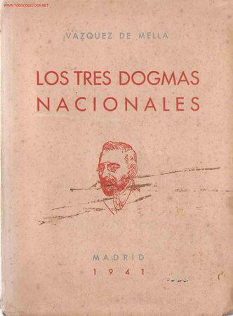 DISCURSO ÍNTEGRO DE LOS TRES DOGMAS NACIONALES (Libros de Segunda Mano - Historia - Otros)