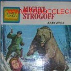 Libros de segunda mano: MIGUEL STROGOFF.JULIO VERNE.250 ILUSTRACIONES. Lote 2283285