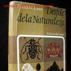 Libros de segunda mano: DESFILE DE LA NATURALEZA, POR FRANK W. LANE. Lote 25806122