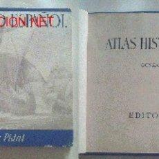 Libros de segunda mano: ANTIGUO ATLAS HISTÓRICO ESPAÑOL DE GONZALO MENÉNDEZ PIDAL-EDITORA NACIONAL-AÑO 1941. Lote 2489781