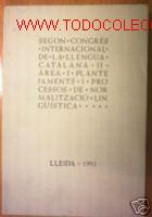 2º CONGRES LLENGUA CATALANA.LLEIDA 1992.ILUSTRADO (Libros de Segunda Mano - Bellas artes, ocio y coleccionismo - Otros)