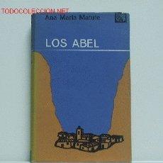 Libros de segunda mano: LOS ABEL. Lote 2580714
