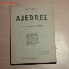 Libros de segunda mano: MANUAL DE AJEDREZ PARA USO DE LOS PRINCIPIANTES(TOMO TERCERO).. Lote 25740266