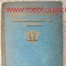 Libros de segunda mano: MANUAL DEL ELECTRICISTA,RADIOTELEFONIA.1942.ESQUEMAS.. Lote 2769651