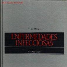 Libros de segunda mano: 2 TOMOS ENFERMEDADES INFECCIOSAS POR G. VERGER GARAU............1988. Lote 15669091