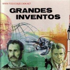 Libros de segunda mano: GRANDES INVENTORES. PLAZA & JANES, S.A. EDITORES, 1972. Lote 25485491
