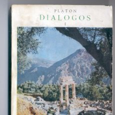 Libros de segunda mano: DIÁLOGOS I-PLATÓN-APOLOGÍA DE SOKRATES.KRITON.EUTIFRON.PRIMER HIPPIAS.LACHES.CHARMIDES...ENVÍO2,50€*. Lote 27118680