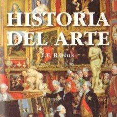 Libros de segunda mano: HISTORIA DEL ARTE (AT-126). Lote 3447532