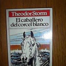 Libros de segunda mano: EL CABALLERO DEL CORCEL BLANCO / THEODOR STORM *EDICIÓN ILUSTRADA * NOVELA * . Lote 18357685