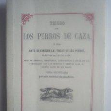 Libros de segunda mano: TESORO DE LOS PERROS DE CAZA.. Lote 24622530