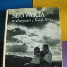 Libros de segunda mano: SLOVAKIA IN PHOTOGRAPHS POR KAROL PLICKA. Lote 27306238