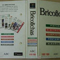 Libros de segunda mano: FICHERO BRICOFICHAS. COLECCIONABLE COMPLETO PUBLICADO POR ABC Y CONTIENE FOTOGRAFÍAS EN COLOR.. Lote 27305769