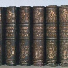Libros de segunda mano: ENCICLOPEDIA GENERAL DEL MAR - 6 TOMOS - AÑO 1957. Lote 50783134