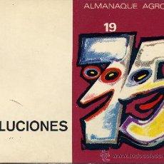 Libros de segunda mano: SOLUCIONES ALMANAQUE AGROMAN. AÑO 75. Lote 10032682