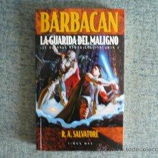 Libros de segunda mano: BARBACAN LA GUARIDA DEL MALIGNO ( LAS GUERRAS DEMONIACAS 2 ) DE R.A. SALVATORE TIMUN MAS ¡NUEVO!. Lote 26404687