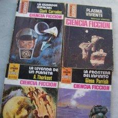 Libros de segunda mano: CUATRO NOVELAS,-BRUGUERA- LA CONQUISTA DEL ESPACIO- NSº.328?, 490, 566, 655, . Lote 17311618