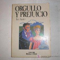 Libros de segunda mano: ORGULLO Y PREJUICIO. JANE AUSTEN. ED. SALVAT. 1986. Lote 10347957