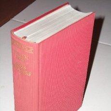 Libros de segunda mano: OBRAS ESCOGIDAS POR WILLIAM IRISH (CORNELL WOOLRICH) DE AGUILAR EN MADRID 1960 PRIMERA EDICIÓN. Lote 22657891