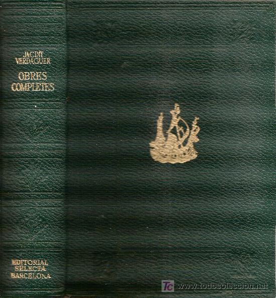 Libros de segunda mano: Obres completes / J. Verdaguer. BCN : Selecta, 1974. 21x15cm. 1578 p. - Foto 2 - 26808944