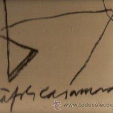 Libros de segunda mano: RAFOLS-CASAMADA: ROJO RUPESTRE. APROXIMACIÓN A SUS DIBUJOS (BARCELONA, 1989). Lote 22928252