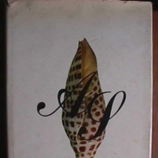 Libros de segunda mano: CONCHAS MARINAS, PEDRO SADURNI, SEIX BARRAL, 1972. Lote 11681102