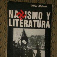 Libros de segunda mano: NAZISMO Y LITERATURA.. Lote 27365915