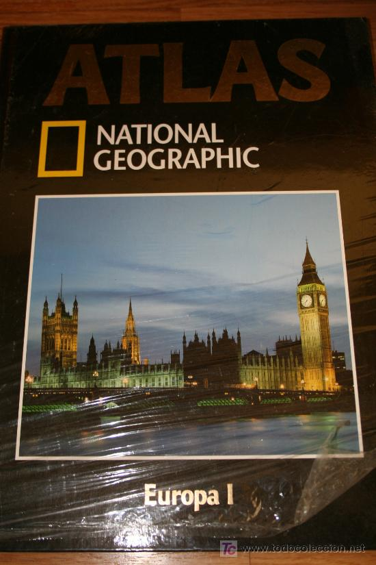 ATLAS. EUROPA I. NATIONAL GEOGRAPHIC Nº 1 (Libros de Segunda Mano - Historia - Otros)