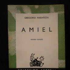 Libros de segunda mano: AMIEL. GREGORIO MARAÑON. COLEC. AUSTRAL. Lote 10859259
