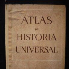 Libros de segunda mano: ATLAS DE HISTORIA UNIVERSAL. J.VICENS VIVES. TEIDE. 1954 SIN PAGINAR.. Lote 27087939