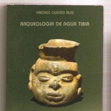 Libros de segunda mano: ARQUEOLOGÍA DE AGUA TIBIA .- ANDRÉS CIUDAD RUIZ . Lote 26660769