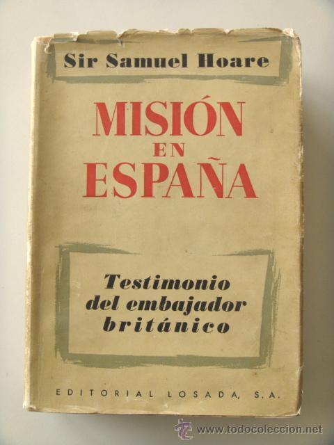 Resultado de imagen de HOARE, Samuel,. Misión en España.