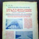 Libros de segunda mano: ESBOZO DE LA GLORIOSA ACTUACION DE LA MARINA NACIONAL.CADIZ 1937. Lote 26195291