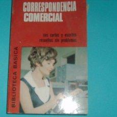 Libros de segunda mano: BIBLIOTECA BASICA.CORRESPONDENCIA COMERCIAL.BRUGUERA.. Lote 26913948
