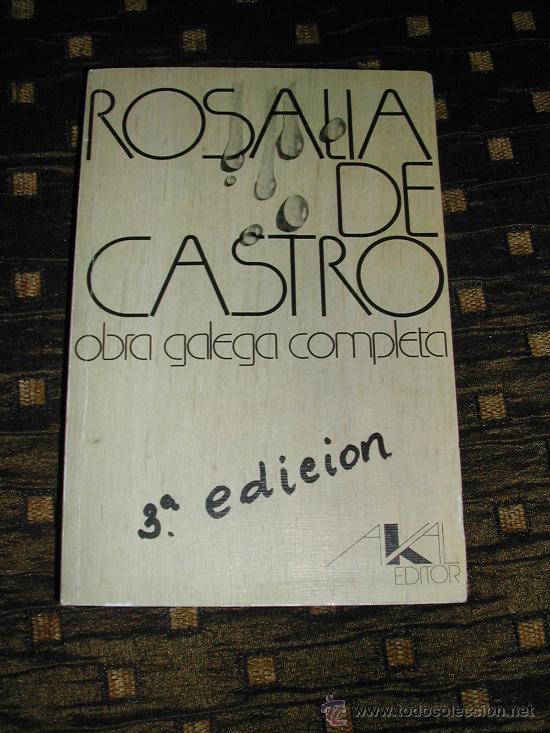 ROSALIA DE CASTRO (Libros de Segunda Mano (posteriores a 1936) - Literatura - Otros)