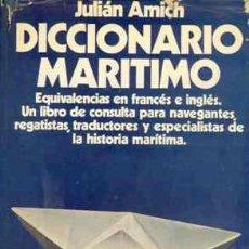 Libros de segunda mano: DICCIONARIO MARITIMO. Lote 26011110