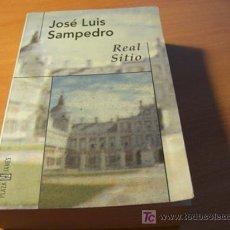 Libros de segunda mano: REAL SITIO ( JOSE LUIS SAMPEDRO PLAZA JANES 1999 1ª EDICION. Lote 11329874