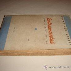 Libros de segunda mano: ENTREMONTES (ESCENAS DE ALDEA). OBRA MONTAÑESA (SANTANDER) DE FRANCISCO CUBRÍA. 1940. . Lote 26963742