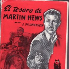 Libros de segunda mano: EL TESORO DE MARTIN HEWS -BIBLIOTECA ORO -Nº 87 EDICION TAPA DURA (EN TELA) . Lote 19646355