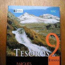 Libros de segunda mano: PARQUES NACIONALES, TESOROS DE ESPAÑA, ESPASA. Lote 27534025