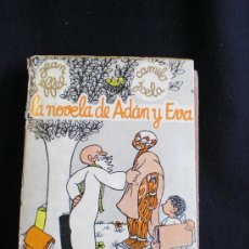 Libros de segunda mano: LA NOVELA DE ADAN Y EVA. JEAN EFFEL- VERSION ESPAÑOLA CAMILO J.CELA. VIÑETAS. ED.AHR.1968.1ºED, 312 . Lote 26787663