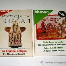 Libros de segunda mano: HISTORIA DE ESPAÑA. 13 VOLS. EDITADA POR HISTORIA 16. LA CONQUISTA DE AMÉRICA. 2 VOLS.. Lote 11701451