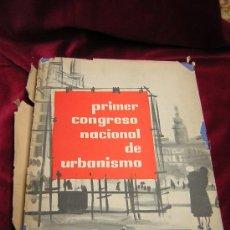 Libros de segunda mano: LA GESTION URBANISTICA.PRIMER CONGRESO NACIONAL DE URBANISMO BARCELONA 1959.. Lote 26121449