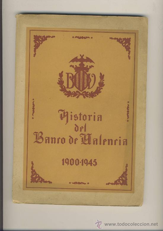 Historia del banco de valencia 1900 1945 direcc comprar - Libreria segunda mano valencia ...