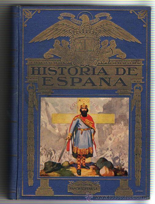 1943 - HISTORIA DE ESPAÑA - AGUSTIN BLANQUEZ FRAILE - 436 GRABADOS - 6 MAPAS DESPLEGABLES (Libros de Segunda Mano - Historia - Otros)