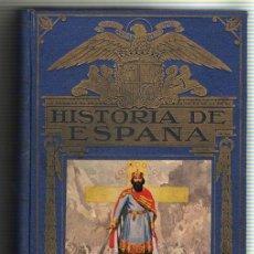 Libros de segunda mano: 1943 - HISTORIA DE ESPAÑA - AGUSTIN BLANQUEZ FRAILE - 436 GRABADOS - 6 MAPAS DESPLEGABLES. Lote 11762850